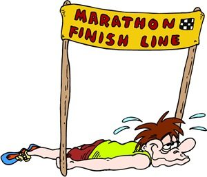 Marathon Count Down Time