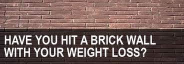 weight loss wall  plateau  diet plan  motivate  why
