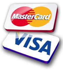 MasterCard and Visa Card with Sumup