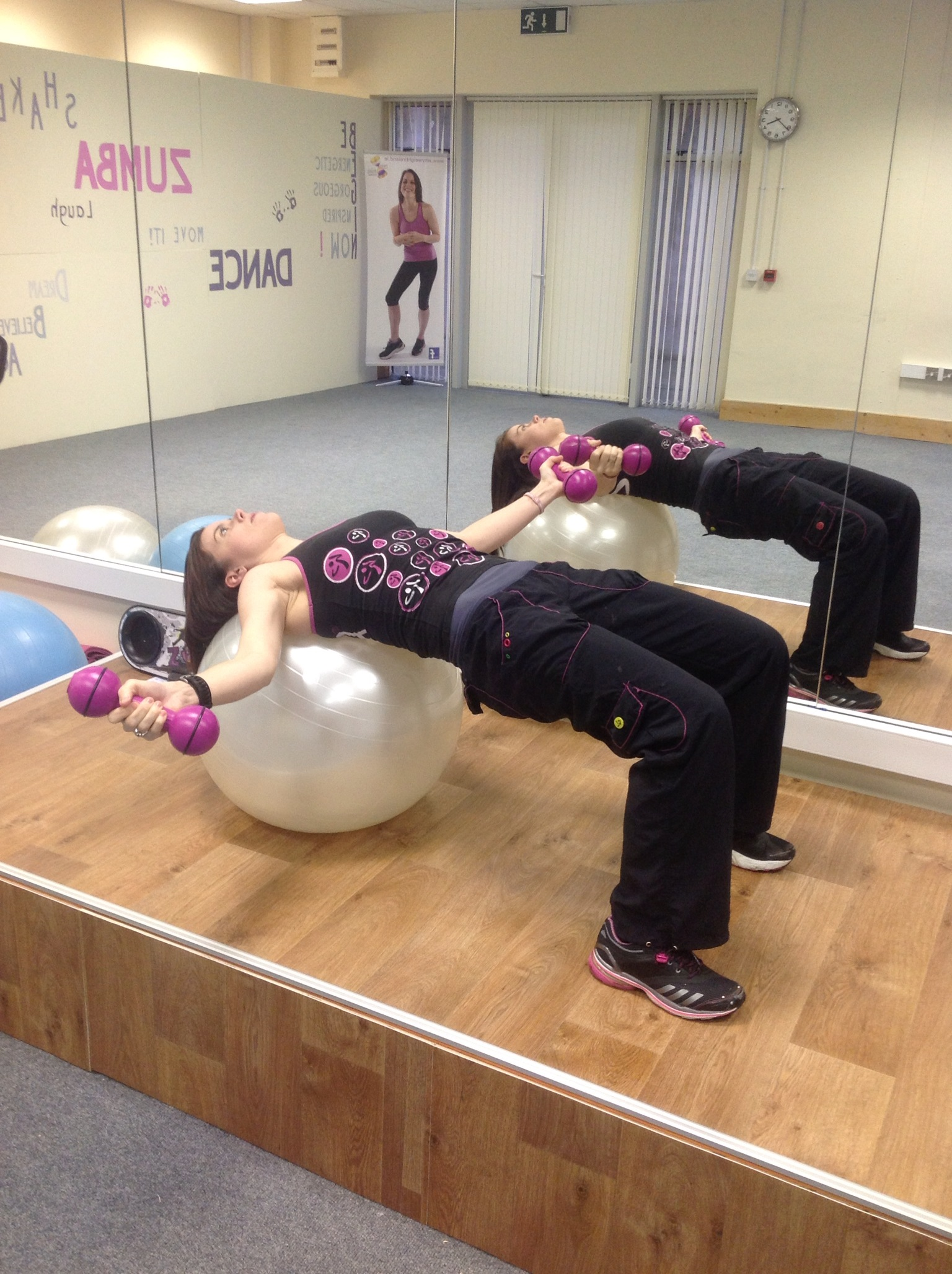 Supine fly2 - Chest Exercise