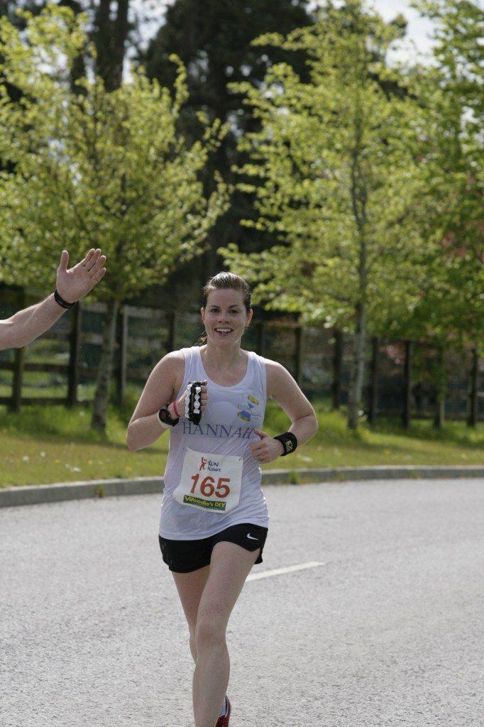 Hannah Nolan 5th Kildare Marathon 2012