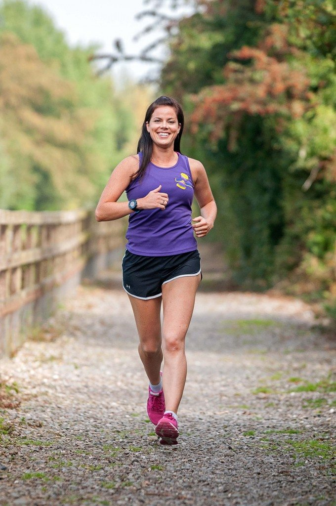 Hannah Why Weight Running