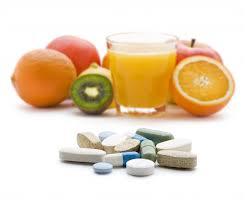 Replacing supplements with healthy food