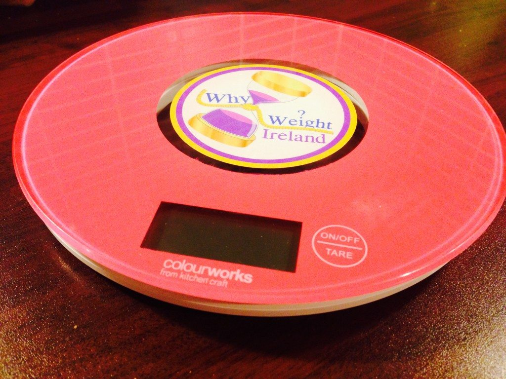 Pink Why Weight Ireland Food Scales