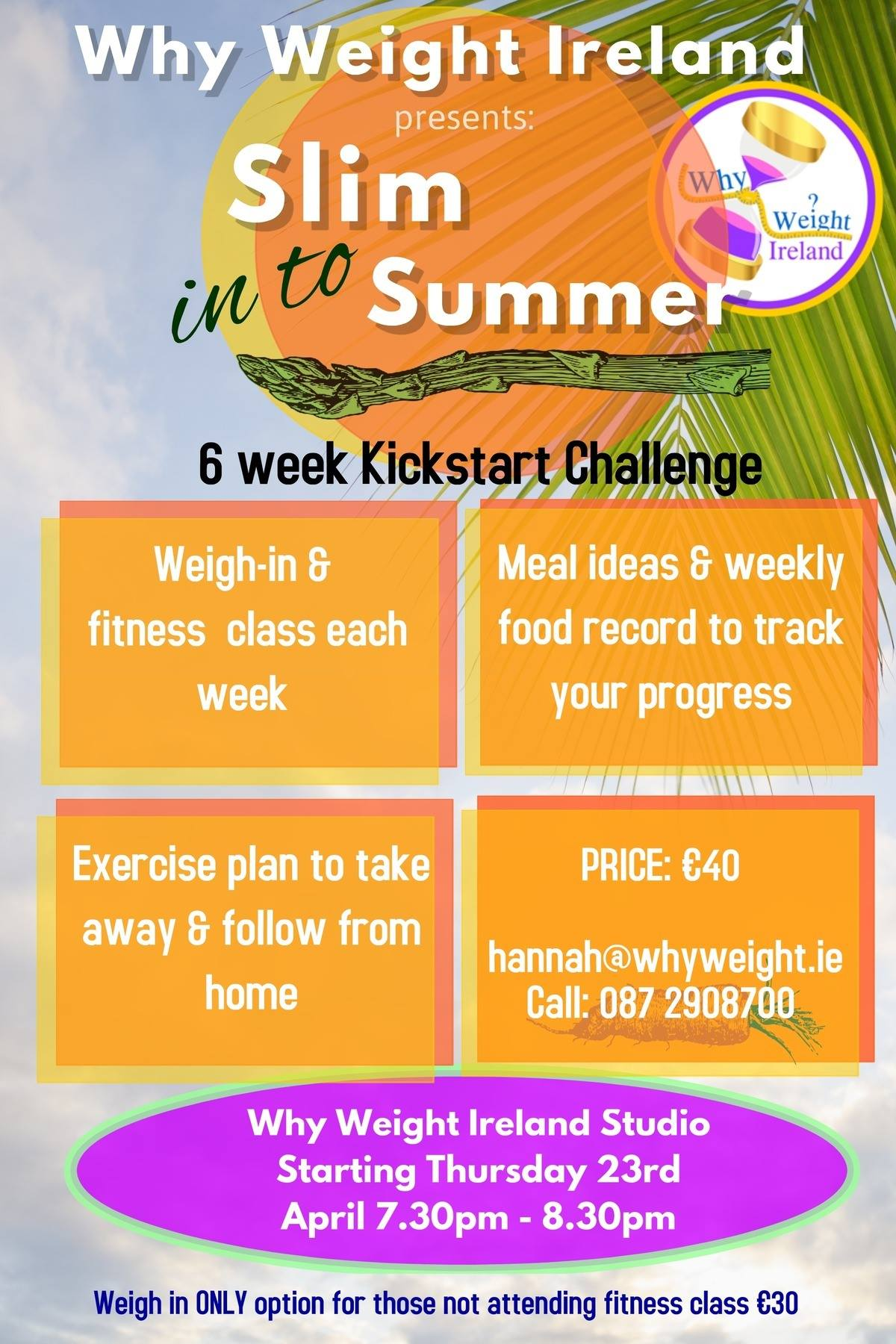 Slim in to summer with Why Weight Ireland