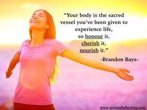 body sacred vessel honour it