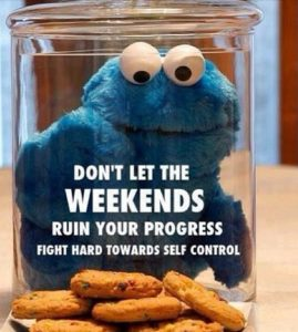 Weekend Sabotage - Don't let the weekends ruin your progress